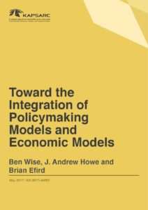 Toward the Integration of Policymaking Models and Economic Models